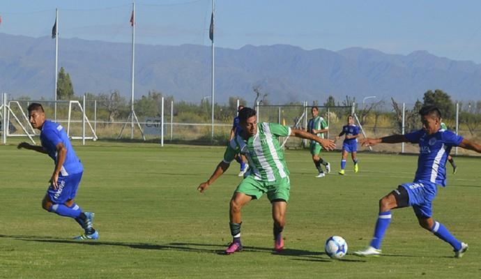 Godoy Cruz venceu o Estudiantes de San Luís em amistoso (Foto: Divulgação/ Godoy Cruz)