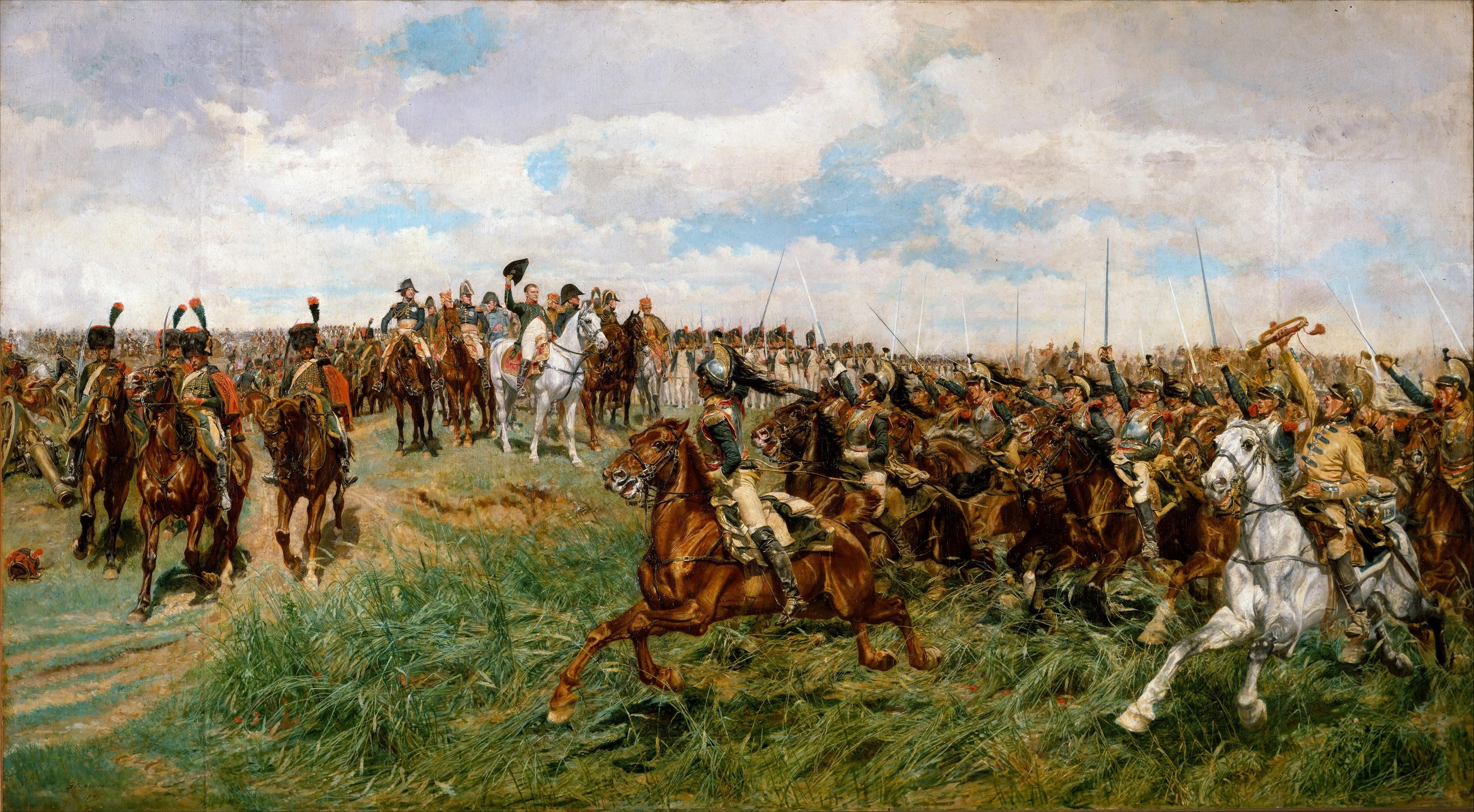 Napoleão na batalha de Friedland
