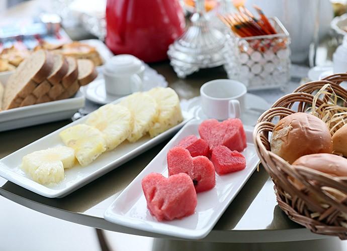 Frutas para deixar o dia de Fran ainda mais doce (Foto: Isabella Pinheiro/Gshow)