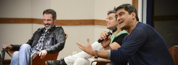 O diretor Ricardo Waddington explicou a vinda de Zeca Camargo para a atração (Foto: Globo / Divulgação)