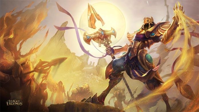 Azir é o novo campeão de League of Legends (Foto: Divulgação)