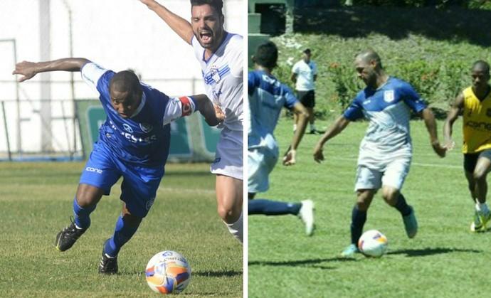 Vitória-ES e Espírito Santo FC se encaram em jogo-treino marcado para este sábado, às 9h, no Salvador Costa (Foto: Editoria de arte)
