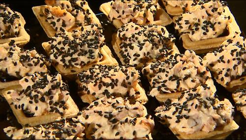 Tartelete de Salmão com Cream Cheese