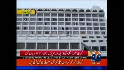 Incêndio em hotel quatro estrelas no Paquistão deixa 11 mortos
