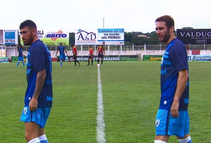 Paulinho Moccelin Netinho Londrina (Foto: Reprodução/Premiere)
