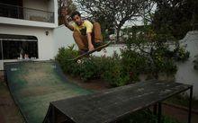 Skate no Quintal