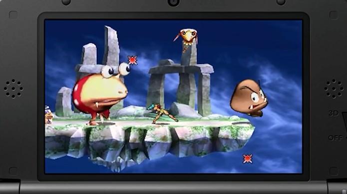Smash Run, modo exclusivo do 3DS, traz muitos inimigos famosos (Foto: gamnesia.com)