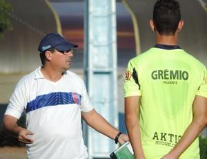 Lelo, técnico do Grêmio Prudente (Foto: Murilo Rincon / GloboEsporte.com)