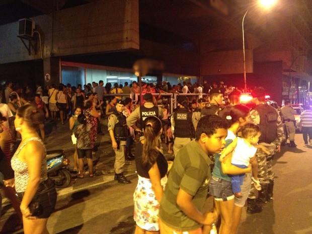 Tumulto também foi registrado em uma agência no Centro de João Pessoa  (Foto: Walter Paparazzo/G1)