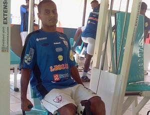 Ivonaldo pode desfalcar o Águia na Série C (Foto: Divulgação/aguiademaraba.com)