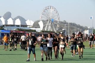 Segundo dia de Rock in Rio (Foto: Graça Paes/ Foto Rio News)