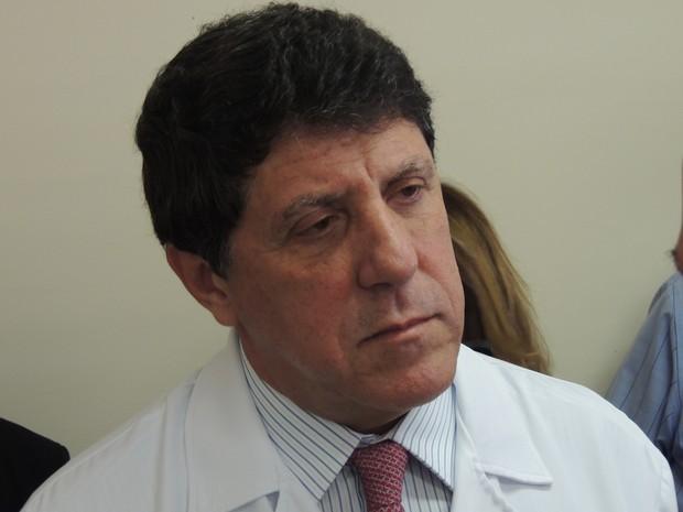 Secretário estadual de Saúde, David Uip, acredita que novo plano vai atrair profissionais bem qualificados (Foto: Pedro Carlos Leite/G1)