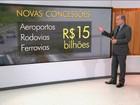 Governo vai refazer concessões de rodovias e aeroportos feitas por Dilma