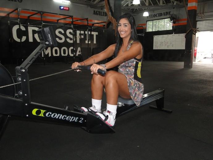 Amanda faz crossfit três vezes por semana (Foto: Vitor Moreno/Gshow)