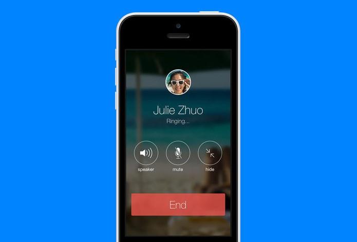 Facebook Messenger ganhou suporte a chamadas para Android e iOS (Foto: Divulgação/App Store) (Foto: Facebook Messenger ganhou suporte a chamadas para Android e iOS (Foto: Divulgação/App Store))