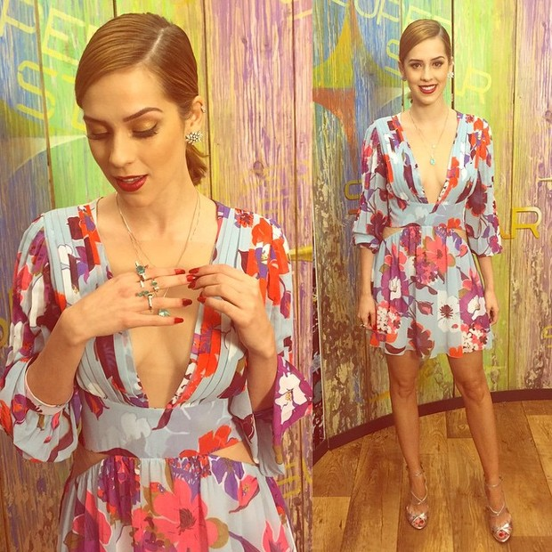 Sophia Abrahão exibe o look (Foto: Instagram/ Reprodução)