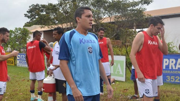 Paulo Wanzeler, goleiro do São Francisco (Foto: Michael Douglas/GloboEsporte.com)