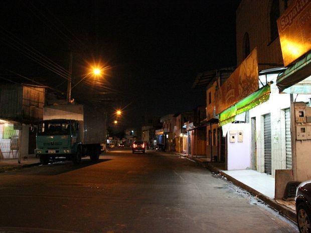 Crime ocorreu na Rua J (Foto: Jamile Alves/G1 AM)