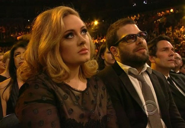 Adele e Simon Konecki (Foto: Reprodução)