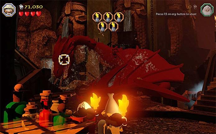 Smaug, o dragão, é o grande vilão da história (Foto: Divulgação)