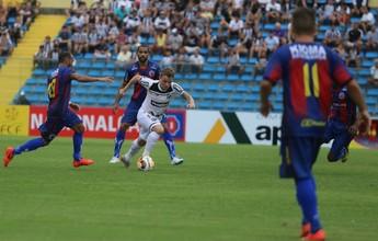 Ceará vence Tiradentes em partida com confusão e defesas de Fábio Lima