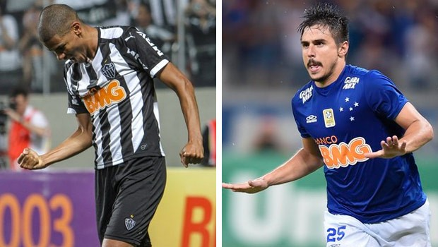 Clássico mineiro decide a Copa do Brasil (Foto: Bruno Cantini e Gualter Naves/Light Press)
