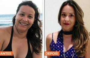 euatleta minha historia Juliana Almeida Favero antes depois (Foto: Eu Atleta | Arte | fotos: arquivo pessoal)