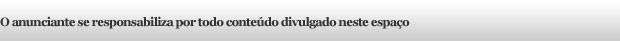 informe publicitário (Foto: Divulgação)