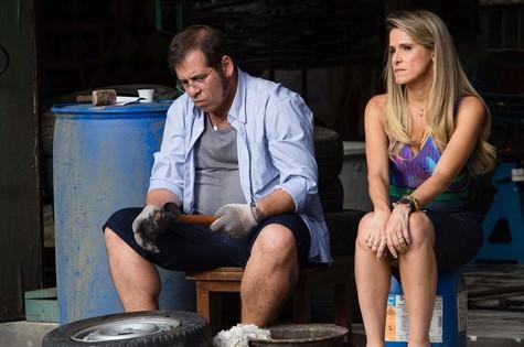Cena de Chapa quente (Foto: Tata Barreto/ TV Globo)
