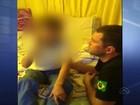 Vídeo mostra primeiro contato de menino sequestrado com a mãe