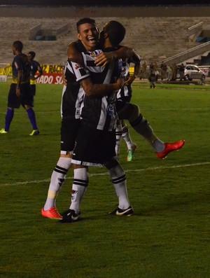 Rafael Oliveira, atacante do botafogo-pb, lucena (Foto: Juliana Bandeira / GloboEsporte.com/pb)