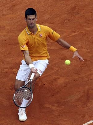 Novak Djokovic x David Ferrer no Masters 1000 de Roma (Foto: Reuters)