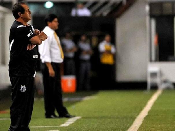 Muricy prepara mudanças na lista da Taça Libertadores (Foto: Ivan Storti / Site Oficial do Santos / Reprodução: Globoesporte.com)