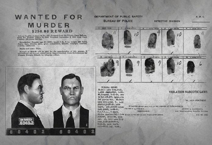 Fotos de criminosos das décadas de 1940 e 1950 foram usadas na criação dos inimigos de BioShock (Foto: Divulgação/Irrational Games)