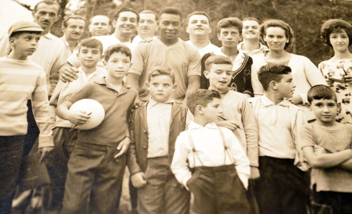 Seleção Brasileira 1962 - Pelé - Campos do Jordão (Foto: Danilo Sardinha/GloboEsporte.com)