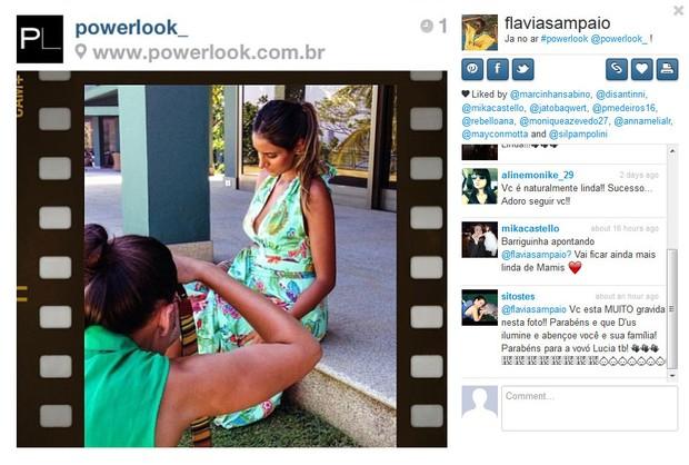 Flávia Sampaio (Foto: Instagram / Reprodução)