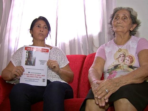 Mãe se diz desesperada com o sumiço da filha (Foto: Reprodução/ TVCA)