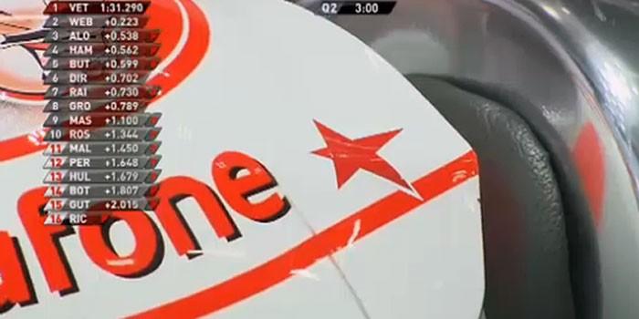 Jenson Button Maria de Villota