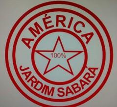 Escudo América Jardim Sabará - amador Prudente (Foto: Divulgação)