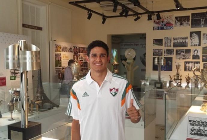 Victor Oliveira Fluminense (Foto: Site Oficial Fluminense)