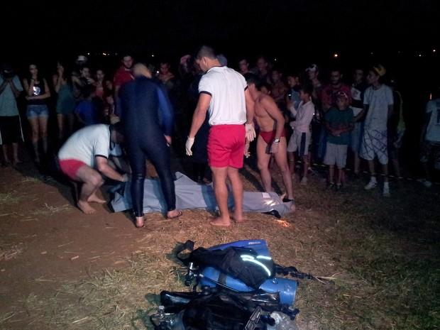 Rapaz morre afogado em represa de Nova Odessa (Foto: André Natale/EPTV)