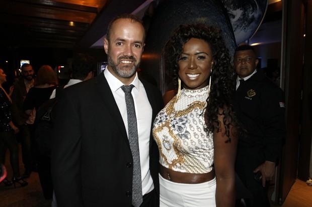 Ex-BBB Adélia e Alexandre Moraes (Foto: Celso Tavares / EGO)