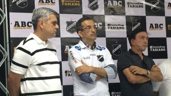 Fabiano Teixeira candidato a presidente do ABC (Foto: Klênyo Galvão/GloboEsporte.com)