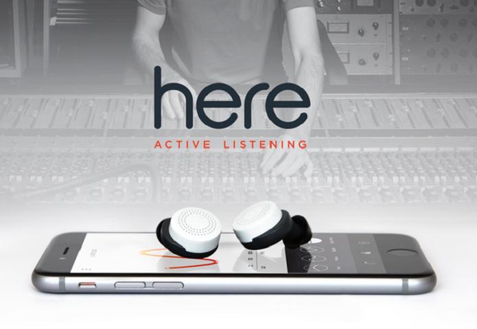 Here Active Listening promete uma experiência de áudio personalizada (Foto: Divulgação/Kickstarter)