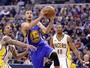 Curry e Thompson combinam para 47 pontos, e Warriors atropelam os Pacers