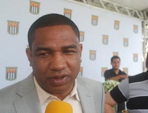 Cesar Sampaio na FPF (Foto: Marcos Guerra/Globoesporte.com)