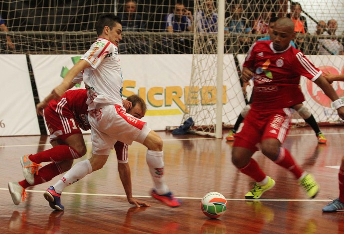 Atlântico Erechim Kairat Almaty Copa Intercontinental de Futsal (Foto: Divulgação/Prime Com)