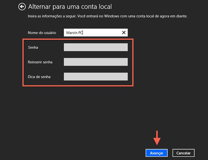 Configurando um login sem senha no Windows (Foto: Reprodução/Marvin Costa)