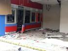 Quadrilha atira contra PM e explode caixas do Bradesco em Iracemápolis