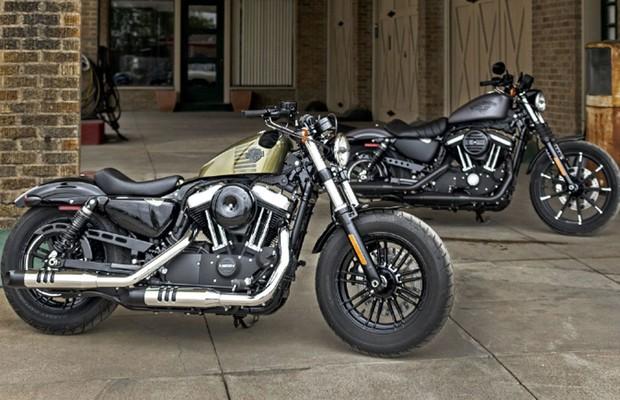 Harley-Davidson Forty Eight e Iron 883 (Foto: PRNewsFoto)
